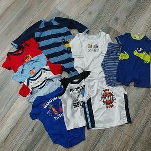 Lot of Baby Boy Clothes 3-9 Months